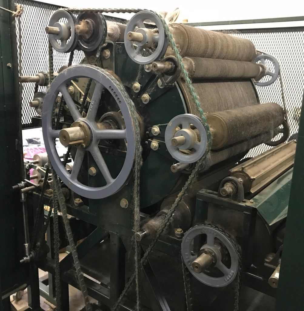 A Visit to the Central Virginia Fiber Mill