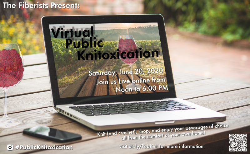 Virtual Public Knitoxication Flyer