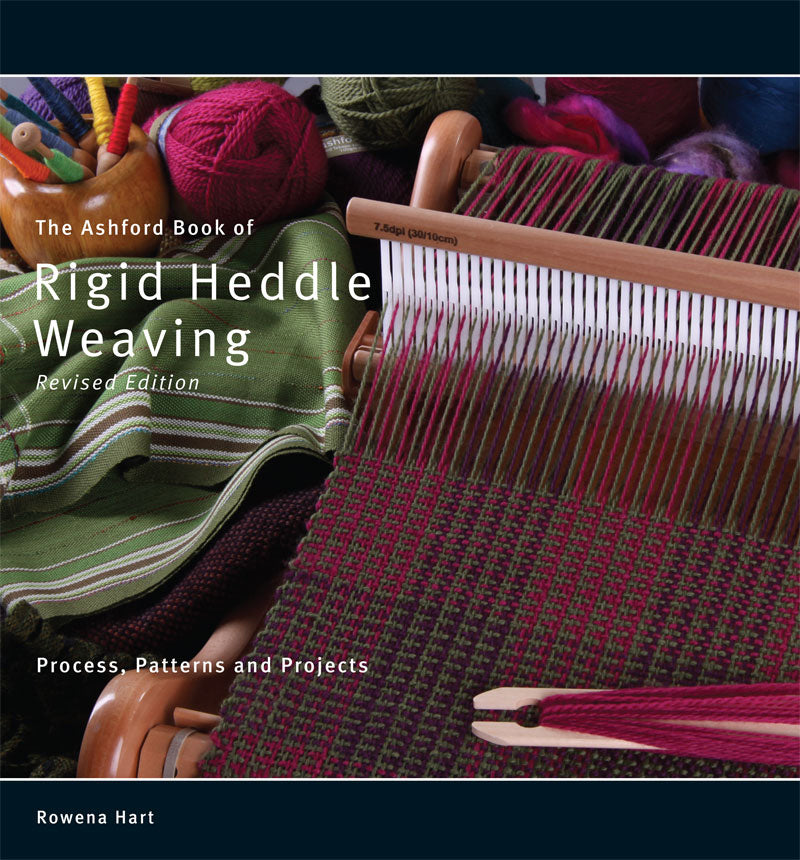 Ashford Book of Rigid Heddle Weaving - Rowena Hart - English