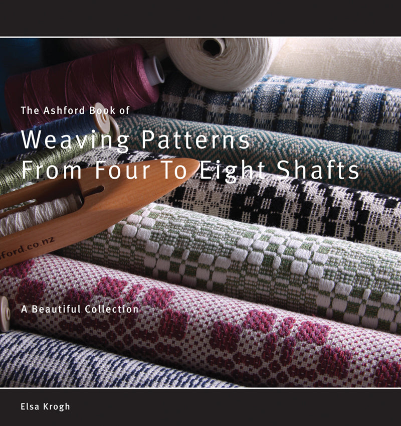 Ashford Weaving Patterns from Four to Eight Shafts- Elsa Krogh