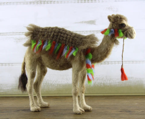 Cairo The Camel | Needle Felting Kit