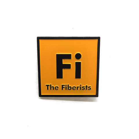 "1.25"" Fiberists Pin Orange"