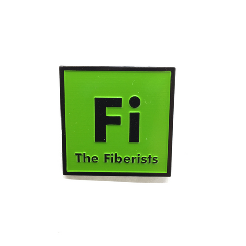 "1.25"" Fiberists Pin Green"