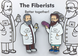 "2"" The Fiberists Combo Pack"