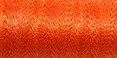 150 Mercerised Cotton 5/2 Celosia Orange - 200gm cone