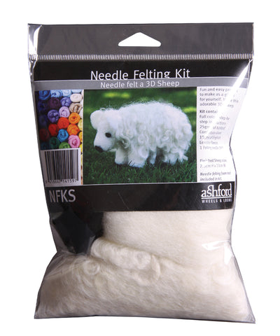 Needle Felting Kit - Sheep