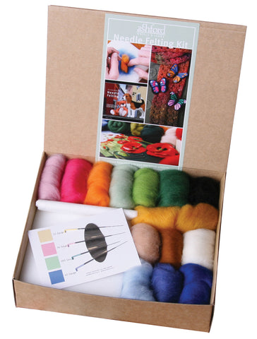 Needle Felting Starter Kit - inc. ABNF