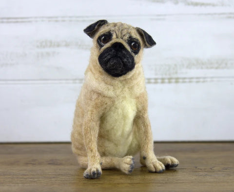 Pugsley | Needle Felting Kit