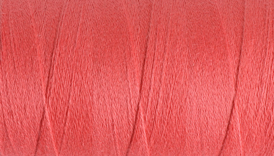 Yoga Yarn 8/2 Core Spun Cotton #348 Coral Red / 200gm