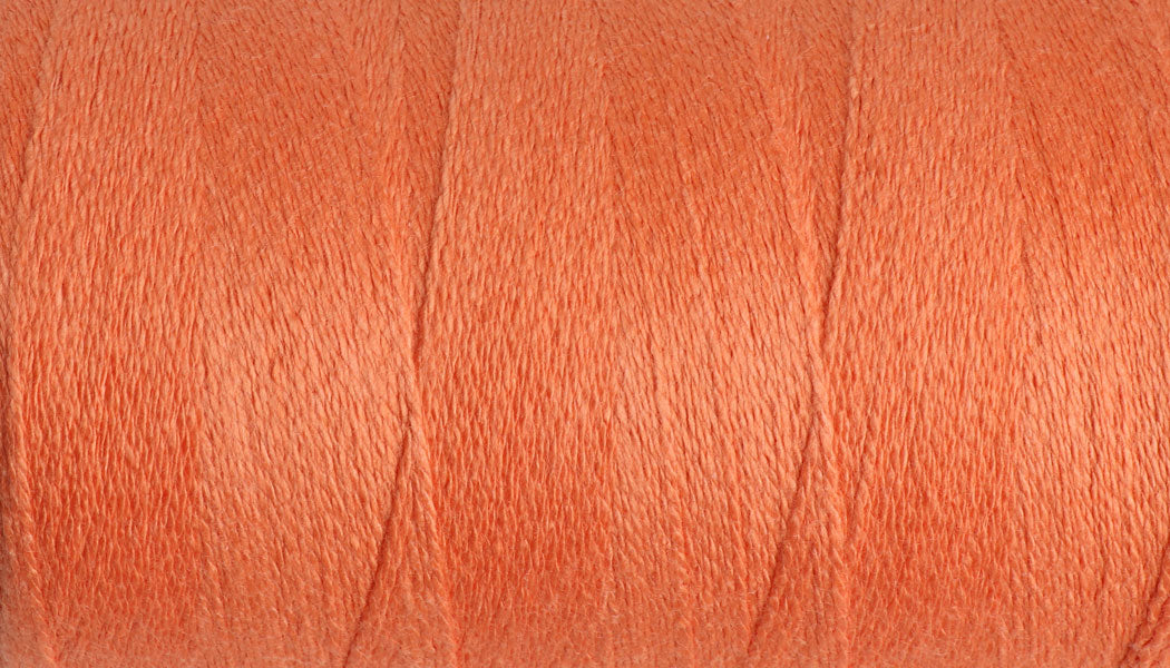 Yoga Yarn 8/2 Core Spun Cotton #350 Celosia Orange/ 200gm