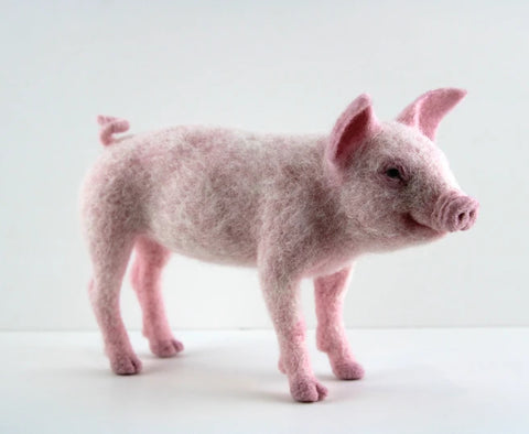 Pippin The Pig | Needle Felting Kit