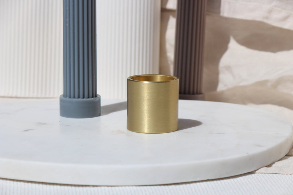 Black Blaze Sydney, Brass Column Candle Holder, Extra, Add on, Gift Boxes Melbourne, Gifts for her, Gifts for him, Gifts for home.