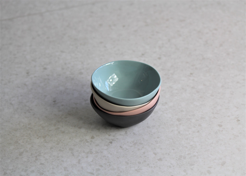 Marmoset Found-Cloud bowl-XS-Dip Bowl-Ring bowl-Gift box Melbourne, gifts for home. Blue, Pink, Grey, Charcoal.