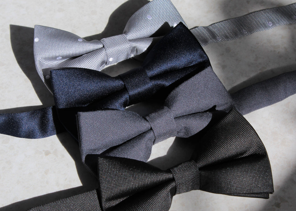 OTAA Bow tie, Grey spot, Navy Satin, Charcoal linen, Bond Black bow ties, Suit, Mens fashion, Formal wear, Wedding, Best man, groomsman, groomsmen, bridal party, gifts for men, Rock my Socks, Dress socks for men, colourful socks, quirky socks for men, in a gift box, gift box for men. Lenoir & Co, Melbourne Gift box Company.