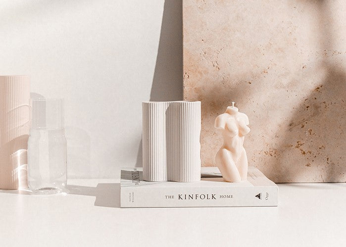 Too Curvaceous - Gifts for her- Gift box for women - Kinfolk Home Book - Infinity Vase- Signature Lady Candle - Gift Box Melbourne