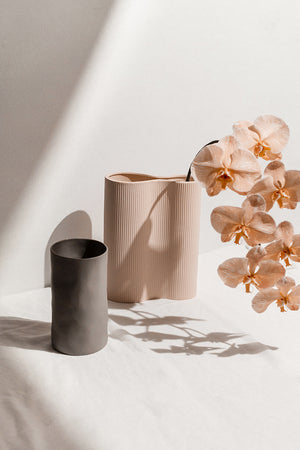 Open image in slideshow, Too Minimal - Gifts for home- two vases - perfect pair- marmoset found- gift box- Melbourne