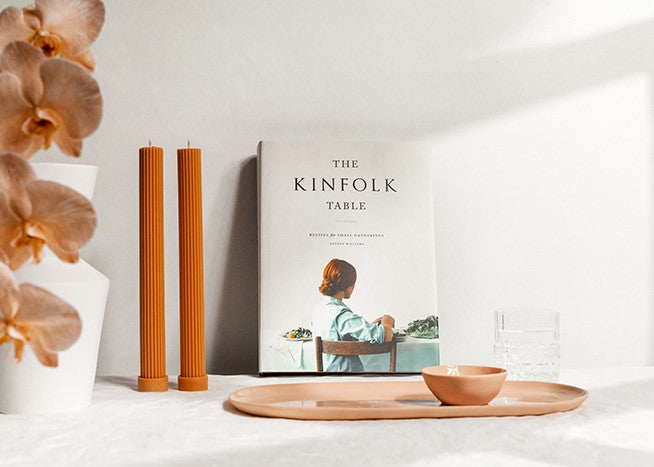 Too Tasteful - Gifts for home- gifts for her- Kinfolk table book- Serving plate-ceramic bowl-column pillar candles- gift box- Melbourne