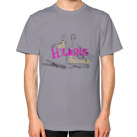 Holding It Together Square Fit T-Shirt Slate - sunnybraveheart