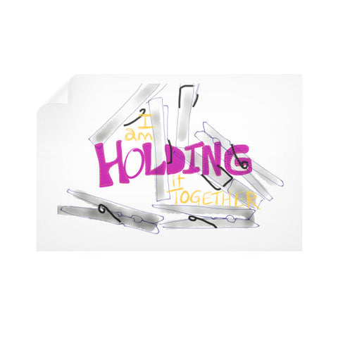 Holding It Together Wall Decals 36x24 - sunnybraveheart