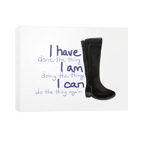I CAN Do All The Things Canvas 30x24 - sunnybraveheart