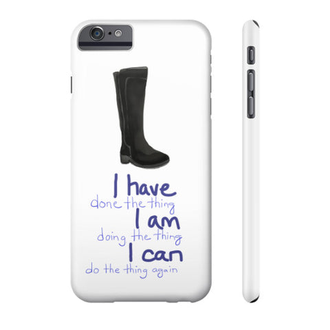 I CAN Do All The Things Phone Case Slim iPhone 6 Plus - sunnybraveheart