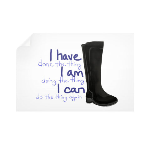 I CAN Do All The Things Wall Decal 36x24 - sunnybraveheart