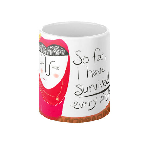 I Have Survived Mug 11oz - sunnybraveheart