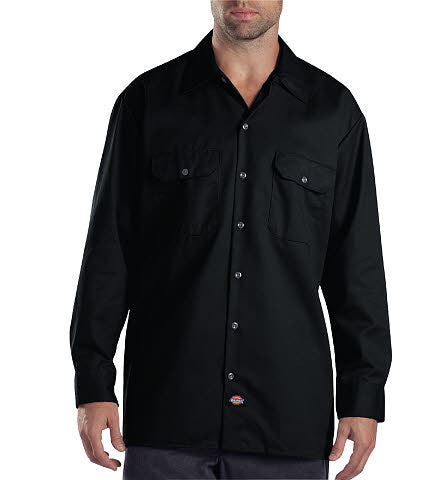 black long sleeve dickies shirt