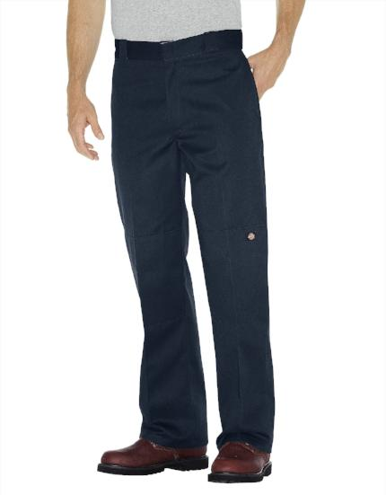 Loose fit double Knee dickies pants dark navy style 85283 - Destination Store