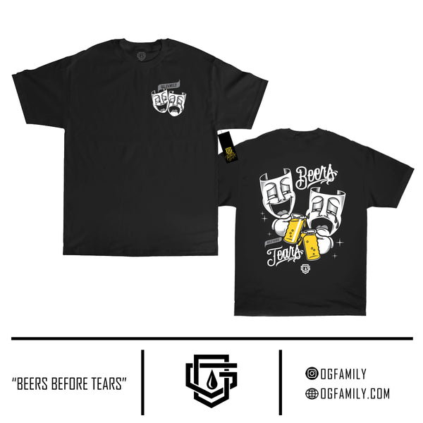 Beers before Tears - short sleeve  T-shirt - Destination Store