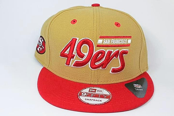 49ers snap back hat