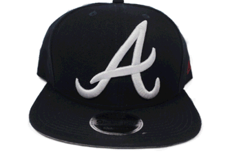 Atlanta Braves snap back hat - Destination Store