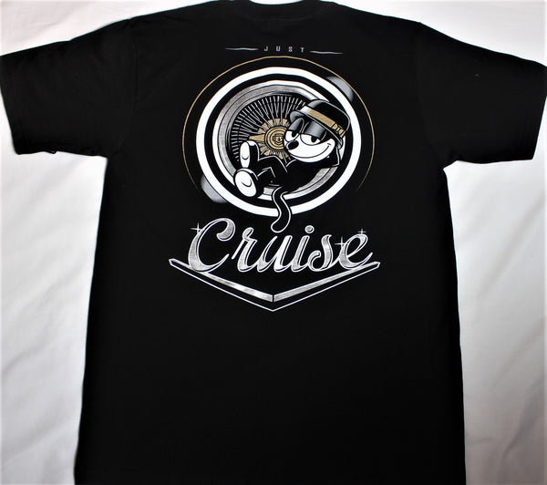 Cruise - Felix the Cat - short sleeve  T-shirt - Destination Store