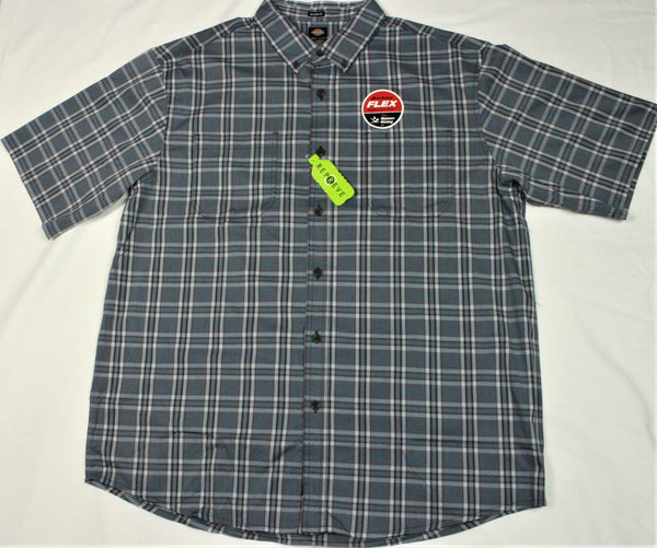 Dickies short sleeve  plaid shirt (WS551)pdn - Destination Store