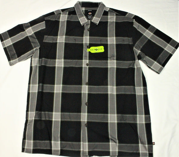 Dickies short sleeve  plaid shirt (WS550) pac - Destination Store