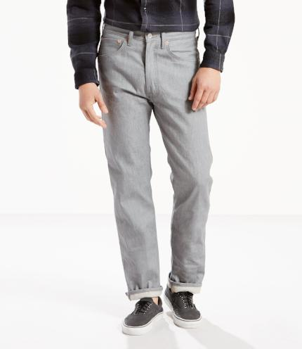 Levi's original 501 shrink to fit grey - Destination Store