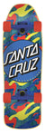 Mini Primary Dot 8.39in x 26.09in 80s Cruzer Santa Cruz Cruiser Skateboard - Destination Store