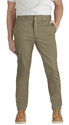Flex slim skinny fit twill work pants wp803. - Destination Store