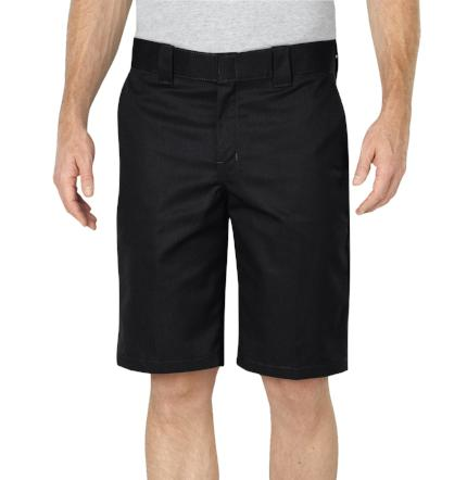 "11"" Dickies short relax fit black color by Destination."
