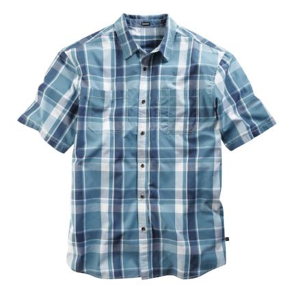 Dickies short sleeve  plaid shirt - Destination Store