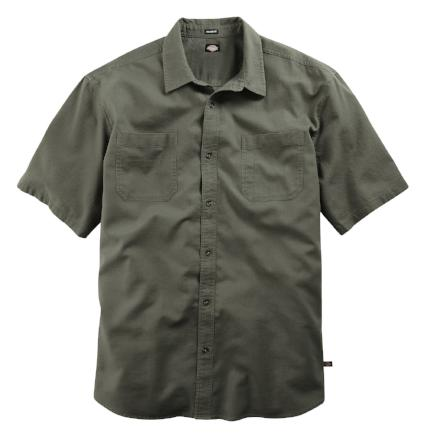 short sleeve dickies shirt