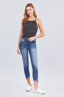 Printed cami woven top - Destination Store