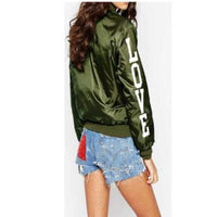 Love bomber jacket for ladys - Destination Store