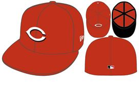 New Era Cincinnati reds 5950 hat - Destination Store
