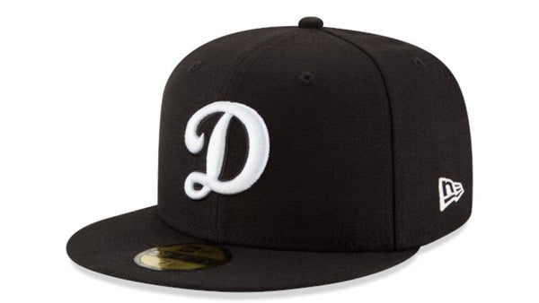 New Era Dodgers (D) 5950 hats black - Destination Store