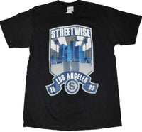 Street wise -City patch short sleeve T shirt - Destination Store