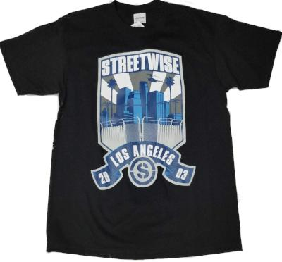 City patch street wise t shirt