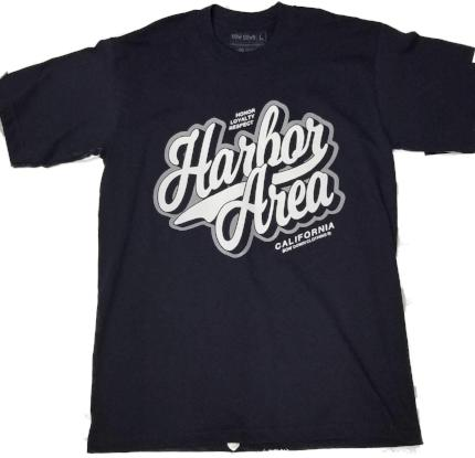 Harbor area-loyalty short sleeve T shirt by Bow down - Destination Store