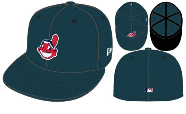 New Era Cleveland Indians 5950 hats - Destination Store