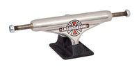Stage 11 Forged Hollow Vintage Cross Silver Black Standard Independent Skateboard Trucks - Destination Store